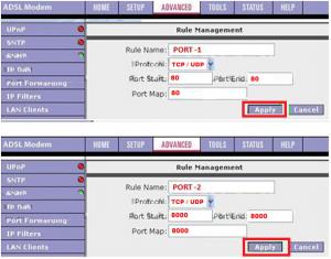 Asus AM6020VII--T4 Modem Port Açma Ayarları_resim5