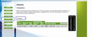 NetMaster İnfinity 401 Modeminde Port Açma_resim_6