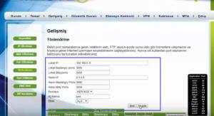 NetMaster İnfinity 401 Modeminde Port Açma_resim_7