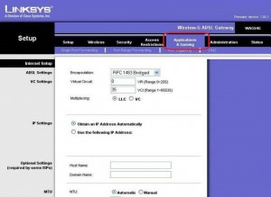 Linksys WAG54G ADSL Modem_portaçma_resim_3