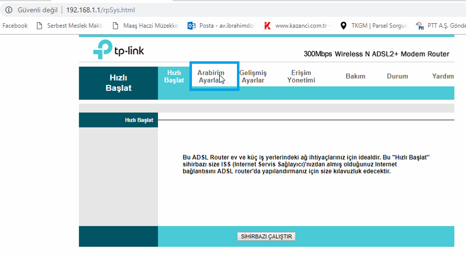 TP-Link TD-W8961ND Port_Yönlendirme_Resimli Anlatım_1