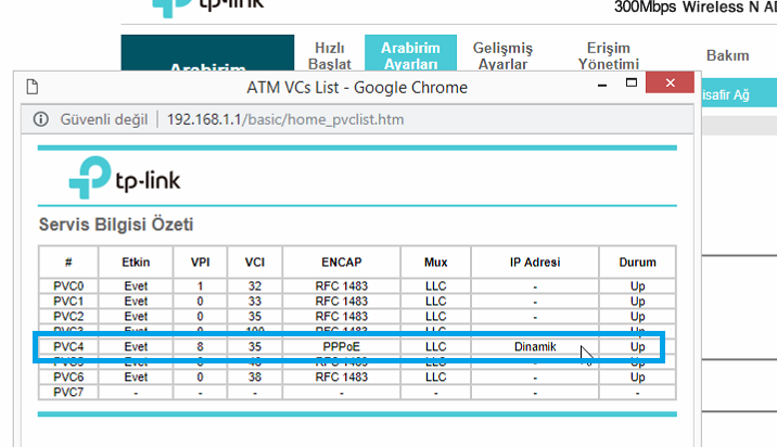 TP-Link TD-W8961ND Port_Yönlendirme_Resimli Anlatım_3