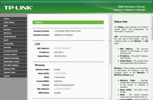 TP-LINK WR840N Port Açma Resimli Anlatım_3